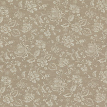 Buy John Lewis Milburn Floral Fabric, Natural Online at johnlewis.com