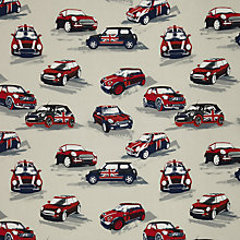 Buy John Lewis Car Rally Curtain, Red Online at johnlewis.com