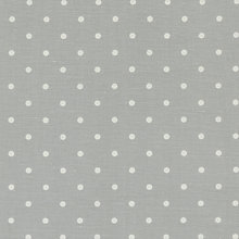 Buy John Lewis Linen Dot Curtain, Grey Online at johnlewis.com