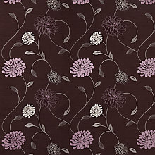 Buy John Lewis Priscilla Curtain, Plum Online at johnlewis.com
