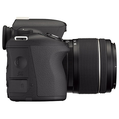 "Buy Pentax K-50 Digital SLR Camera with 18-55mm Lens, HD 1080p, 16.1MP, 3"" LCD Screen Online at johnlewis.com"