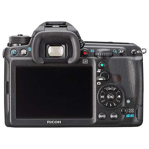 "Buy Pentax K-3 Digital SLR Camera, HD 1080p, 24.3MP, 3.2"" LCD Screen, Body Only Online at johnlewis.com"