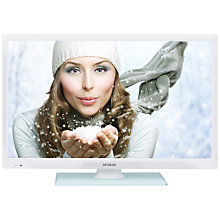 "Buy Linsar 24LED1000S LED HD 720p Smart TV/DVD Combi, 24"" with Freeview HD Online at johnlewis.com"
