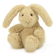 Buy Jellycat Poppet Bunny Soft Toy, Brown Online at johnlewis.com