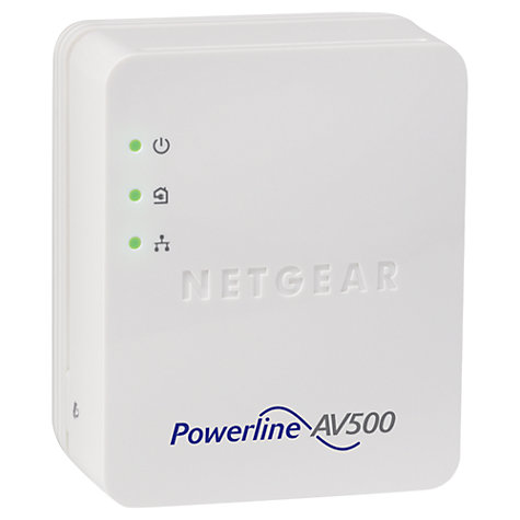 Buy Netgear Powerline 500 Adapter, 500Mbps Online at johnlewis.com