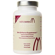 Buy MERUMAYA Skin Brilliance Supplements™, 90 capsules Online at johnlewis.com