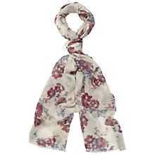 Buy Fat Face Freesia Floral Print Scarf Online at johnlewis.com