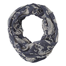 Buy Fat Face Butterfly Print Snood Online at johnlewis.com