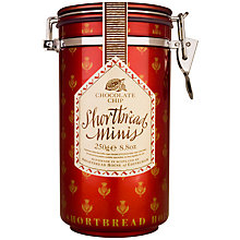 Buy Shortbread House Choc Chip Shortbread Canister, 250g Online at johnlewis.com