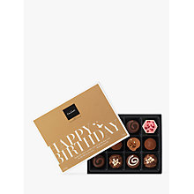 Buy Hotel Chocolat 'Happy Birthday' Chocolate Gift Box, 140g Online at johnlewis.com
