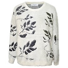 Buy Paisie Print Jumper, Black/White Online at johnlewis.com