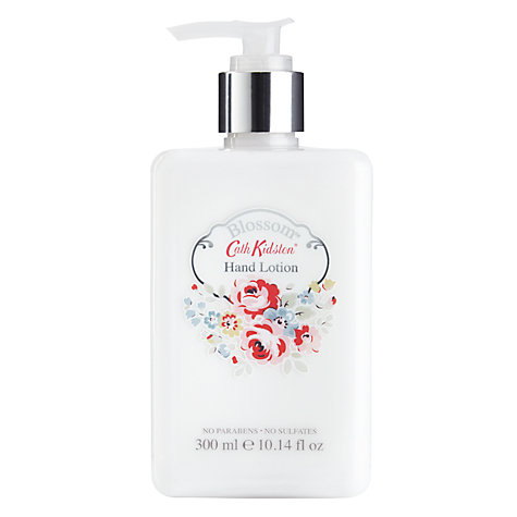 Buy Cath Kidston Hand Lotion, Blossom, 300ml Online at johnlewis.com