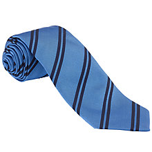 Buy John Lewis Double Stripe Silk Tie Online at johnlewis.com
