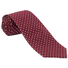 Buy John Lewis Micro Square Silk Tie Online at johnlewis.com