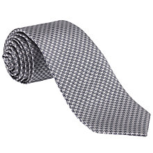 Buy John Lewis Puppytooth Silk Tie Online at johnlewis.com