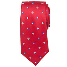 Buy John Lewis Ditsy Flower Silk Tie Online at johnlewis.com