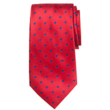 Buy John Lewis Colour Base Spot Silk Tie Online at johnlewis.com