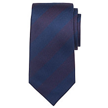 Buy John Lewis Woven Stripe Silk Tie Online at johnlewis.com