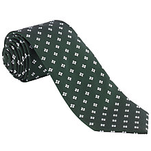 Buy John Lewis Geo Flower Silk Tie Online at johnlewis.com