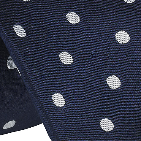 Buy John Lewis Large Dot Silk Tie Online at johnlewis.com