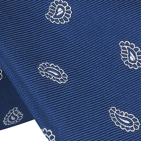 Buy John Lewis Large Paisley Silk Tie Online at johnlewis.com