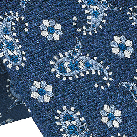 Buy John Lewis Printed Paisley Silk Tie Online at johnlewis.com
