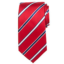 Buy John Lewis Texture Stripe Silk Tie Online at johnlewis.com