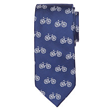 Buy John Lewis Bicycle Print Tie Online at johnlewis.com