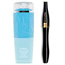 Buy Lancôme Bi-Facil Non Oily Instant Cleanser Sensitive Eyes and Hypnôse Mascara Online at johnlewis.com