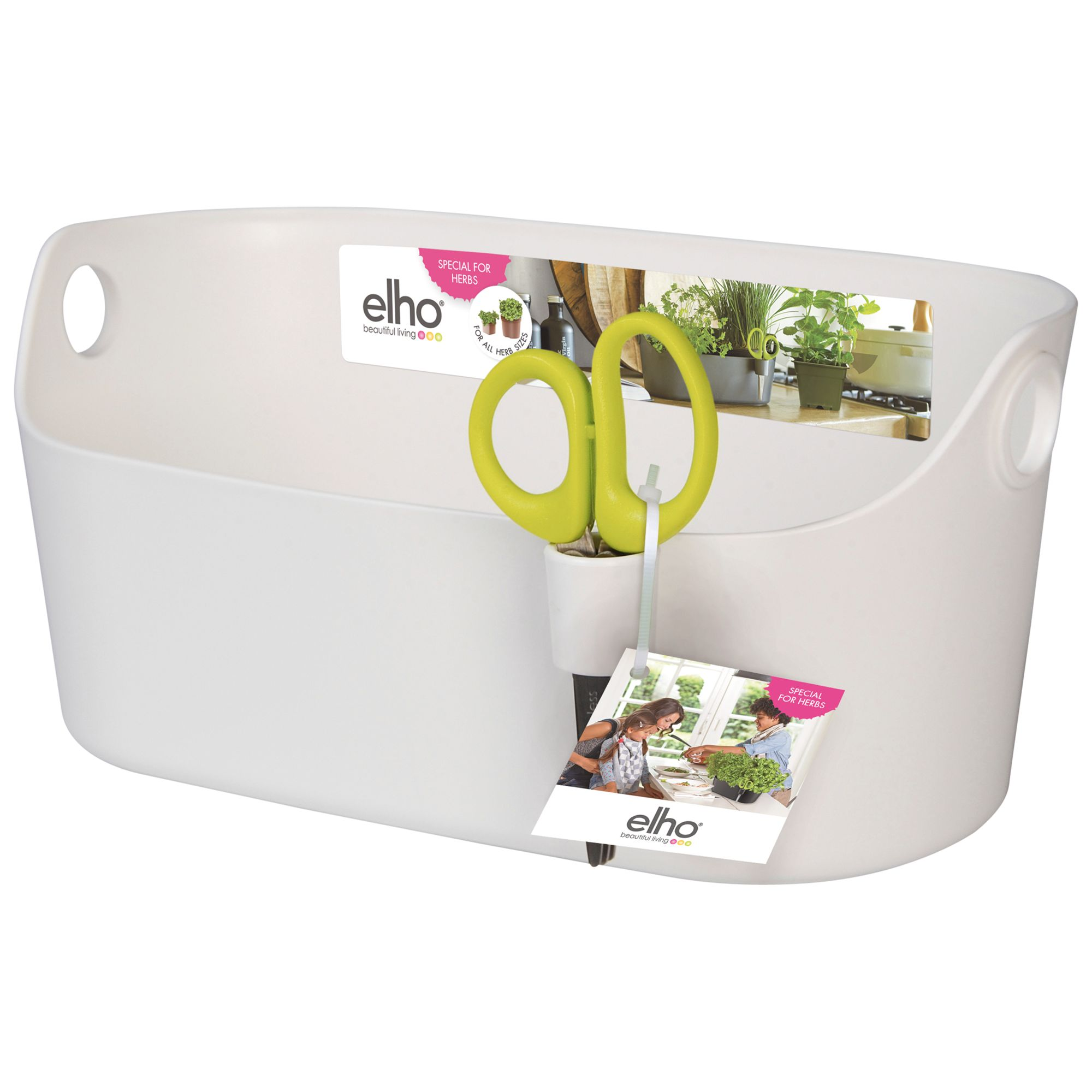 Elho Brussels Herb Station, White