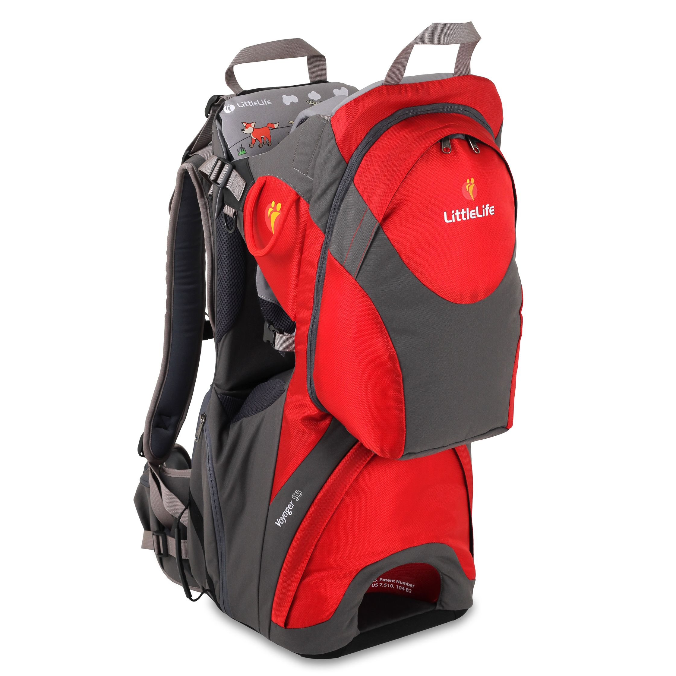 Littlelife LittleLife Voyager S3 Baby Carrier, Red