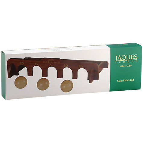 Buy Jaques Giant Roll-A-Ball Online at johnlewis.com