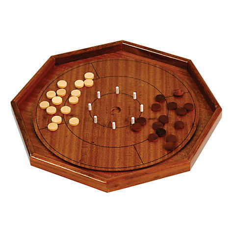 Buy Jaques Crokinole Luxury Grand 70 cm Board Game Online at johnlewis.com