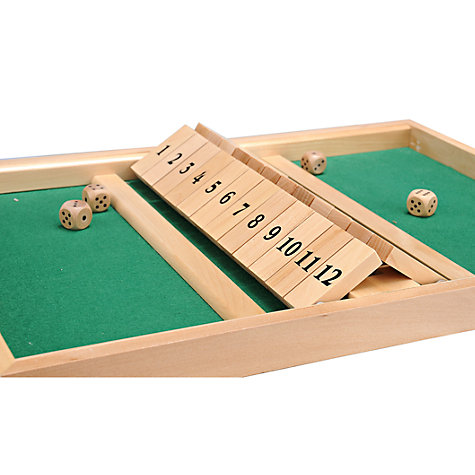 Buy Jaques Shut the Box Double 12 Online at johnlewis.com
