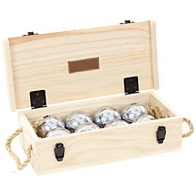 Buy Jaques 8 Boule Wooden Box Set Online at johnlewis.com