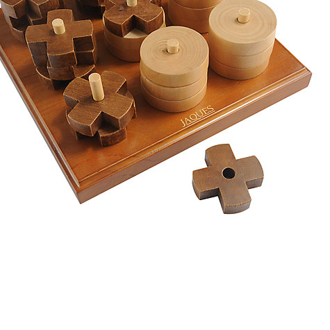 Buy Jaques Noughts & Crosses 3D Deluxe Online at johnlewis.com