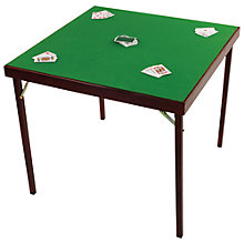 Buy Jaques Eclipse Card Table Online at johnlewis.com