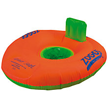 Buy Zoggs Swimming Trainer Seat, Orange, 3-12 months Online at johnlewis.com