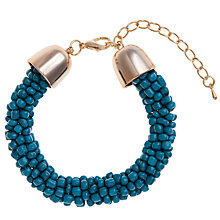 Buy John Lewis Glass Seed Twist Bead Bracelet Online at johnlewis.com