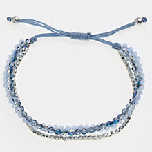 Buy John Lewis Cara Triple Facet Bead Bracelet Online at johnlewis.com
