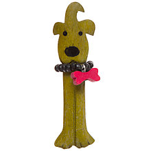 Buy One Button Alfie Dog Brooch Online at johnlewis.com