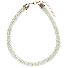 Buy John Lewis Twisted Bead Statement Necklace Online at johnlewis.com
