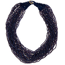 Buy John Lewis Multi-Row Glass Seed Bead Necklace Online at johnlewis.com