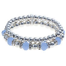 Buy John Lewis New Generation Coronation Bracelet, Silver Online at johnlewis.com