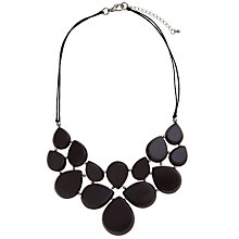 Buy One Button Short Multi Bead Collar Necklace, Lavender Online at johnlewis.com