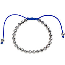 Buy John Lewis Polished Ball Friendship Bracelet Online at johnlewis.com