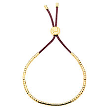 Buy Melissa Odabash Gold Plated Friendship Bracelet Online at johnlewis.com