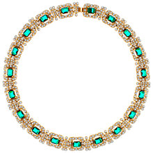 Buy Eclectica Vintage 1980s Attwood & Sawyer Necklace, Green Online at johnlewis.com