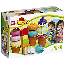 Buy LEGO Duplo Creative Ice Cream Online at johnlewis.com
