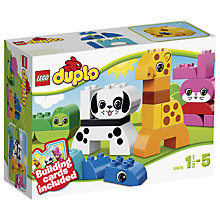Buy LEGO DUPLO Creative Animals Online at johnlewis.com